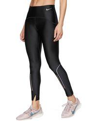 Nike Speed 7/8 Running Tights - Black