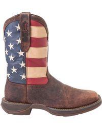 Durango - Rebel Patriotic Pull-on Work Boots - Lyst