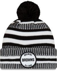 KTZ - Cleveland Browns Sideline Home Sport Pom Knit - Lyst
