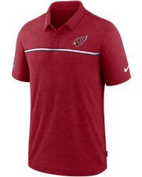 Nike - Arizona Cardinals Sideline Early Season Polo - Lyst