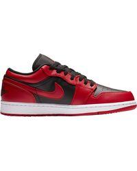 Nike Jordan Air Jordan 1 Low Basketball Shoes - Red