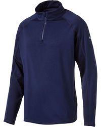 PUMA - Core Quarter-zip Golf Pullover - Lyst