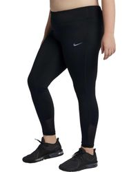 Nike - Plus Size Racer Running Tights - Lyst