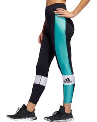 0369ddd3272d9e adidas - Elieve This High Rise Sport Block 7/8 Tights - Lyst