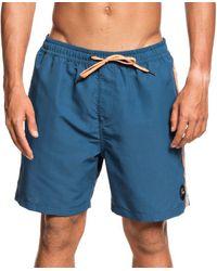 Quiksilver Beach Please Volley Board Shorts - Blue