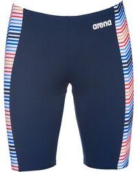Arena Multicolor Stripes Jammer - Blue