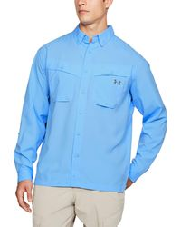 Under Armour Tide Chaser Long Sleeve Shirt (regular And Big & Tall) - Blue