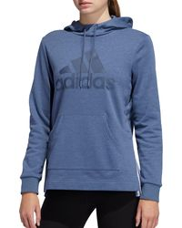 adidas Post Game Badge Of Sports Hoodie - Green