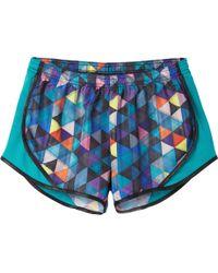 Soffe - Juniors' Printed Team Shorty Shorts - Lyst