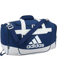 adidas Defender Iii Small Duffle Bag - Blue