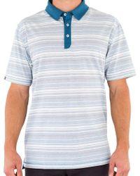 Linksoul - Cotton Yarn Dyed Stripe Polo - Lyst