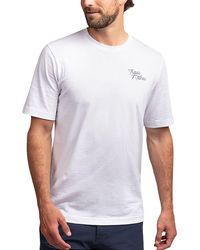 Travis Mathew Jayus Golf T-shirt - White