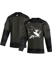 adidas - San Jose Sharks Camo Authentic Pro Jersey - Lyst