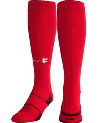 Under Armour Team Football Otc Socks 2 Pack - Red