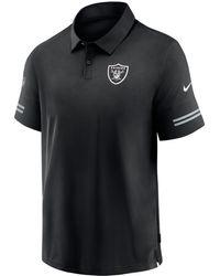 Nike - Las Vegas Raiders Coaches Sideline Polo - Lyst
