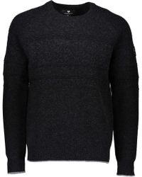 Obermeyer Textured Crew Neck Sweater - Black