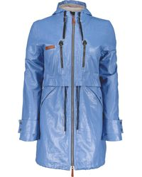 Obermeyer Emmie Trench Jacket - Blue