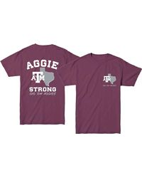 New World Graphics - Texas A&m Aggies Maroon 'strong' T-shirt - Lyst