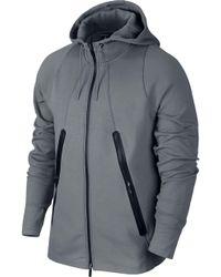 84010618c8d5 Nike - Air Lite Fleece Full Zip Basketball Hoodie - Lyst