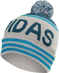 284f3d5bf79 Lyst - Urban Outfitters Adidas Originals Trefoil Ii Knit Beanie in ...