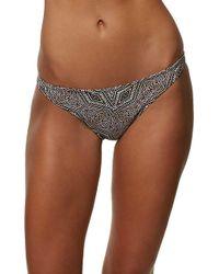 O'neill Sportswear - Zanzibar Reversible Bikini Bottom - Lyst