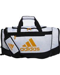adidas Defender Iii Medium Duffle Bag - Red