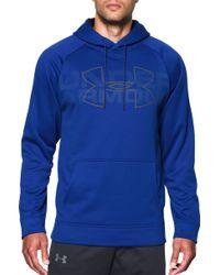 7f907757c Lyst - Under Armour Men's Ua Storm Armour® Fleece Big Logo Hoodie in ...