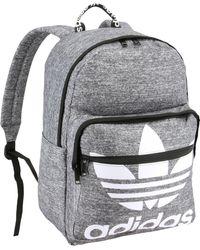 adidas Originals Trefoil Pocket Backpack - Gray