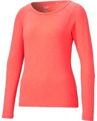 PUMA - Sun Crew Long Sleeve Golf Shirt - Lyst