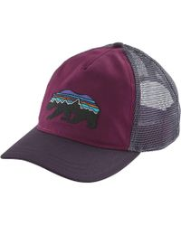 57ba01ba Patagonia Geodesic Flying Fish Trucker Hat in Blue - Lyst