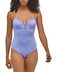 95dad0d9ac3b5 Patagonia Spring Juanita Swimsuit in Blue - Lyst