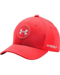 10c3a5aecf8 Lyst - Under Armour Oys  Official Tour Golf Hat in Blue for Men