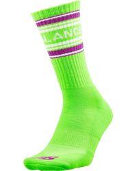 New Balance Big League Chew Crew Socks - Green