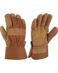 Carhartt - Insulated Grain Gloves - Lyst
