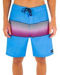 "Hurley Timber 18"" Board Shorts - Blue"