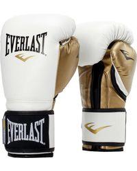 Everlast Powerlock Training Gloves - White