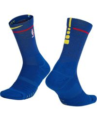 buy popular 7d247 74619 Nike - Golden State Warriors City Edition Elite Quick Nba Crew Socks - Lyst