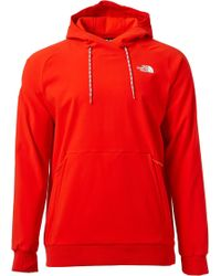 b99d30614 The North Face Bearitage Pullover Hoodie in Red for Men - Lyst