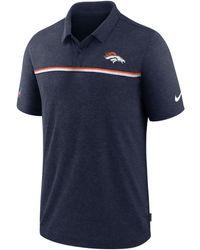 Nike - Denver Broncos Sideline Early Season Polo - Lyst