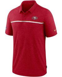 Nike - San Francisco 49ers Sideline Early Season Polo - Lyst