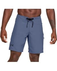 Under Armour Shore Break Board Shorts (regular And Big & Tall) - Blue