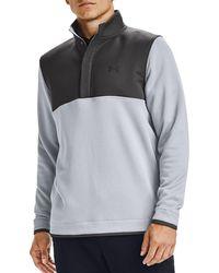 Under Armour Storm Half-snap Golf Pullover - Gray