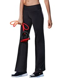 Champion Absolute Semi-fit Smoothtec Band Pants - Black