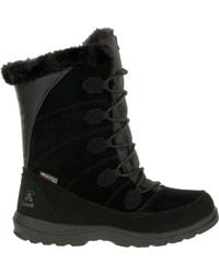 Kamik Icelyn S Waterproof Winter Boots - Black