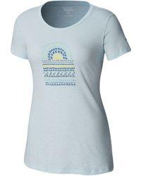 dd46849693f3 Wrangler X Peter Max Sunrise Graphic T-shirt in White - Lyst