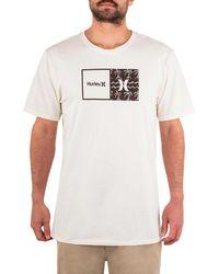 Hurley Premium Natural Short Sleeve Graphic T-shirt