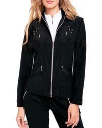 Jamie Sadock Airwear Convertible Golf Jacket - Black
