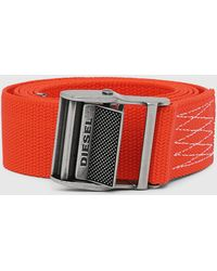 DIESEL - Adjustable Technical Tape Belt - Lyst
