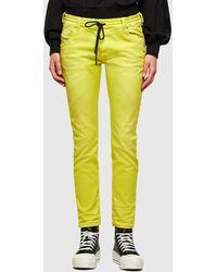 DIESEL Krailey JoggJeans® 0670m Boyfriend - Yellow