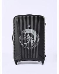 DIESEL - Medium luggage With Mohawk - Lyst